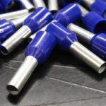 Weidmuller H 2.5/14D Blue BD 9004360000 Skun Ferrule 500 pcs Blue